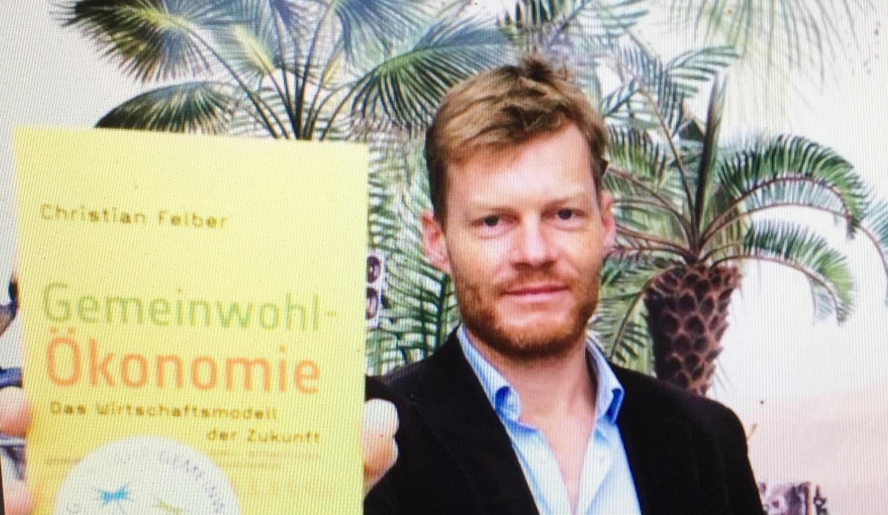 """Gemeinwohlökonomie von Christian Felber als alternatives Wirtschaftsmodell erhält in Hamburg den ZEIT WISSEN-Preis """"Mut zur Nachhaltigkeit"""" 2017"""