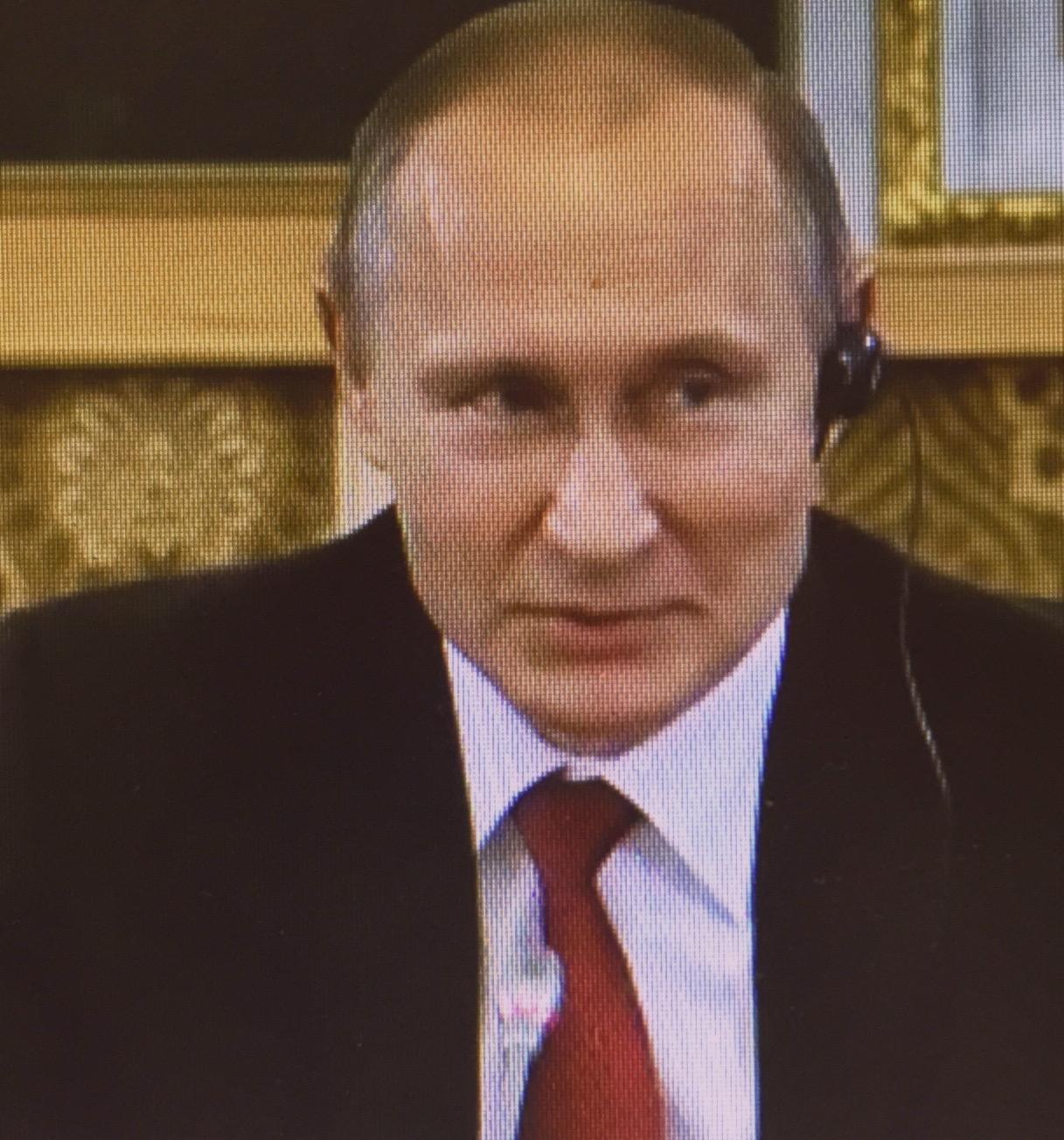 Wladimir Putin beim Wirtschaftsforum in St. Petersburg: Kriege sind destruktiv für die gesamte Weltgemeinschaft, vor allem aber auch für die Aggressoren selbst.