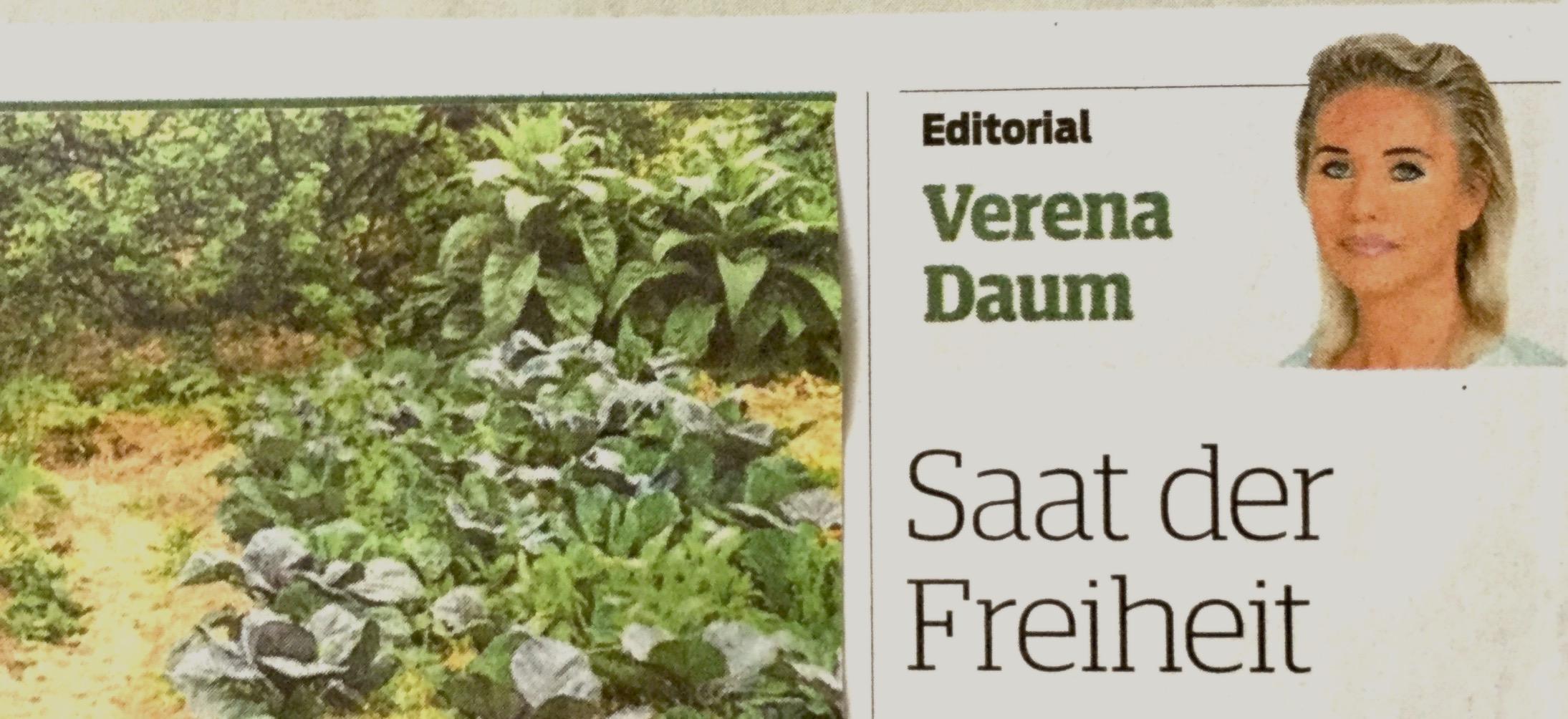 Verena Daum: Saat der Freiheit - raus aus der Destruktivität exponentiellen Wachstums - hin zu qualitativem Wachstum im Einklang mit der Natur (Garden Eden Organisation, www.progression.at)