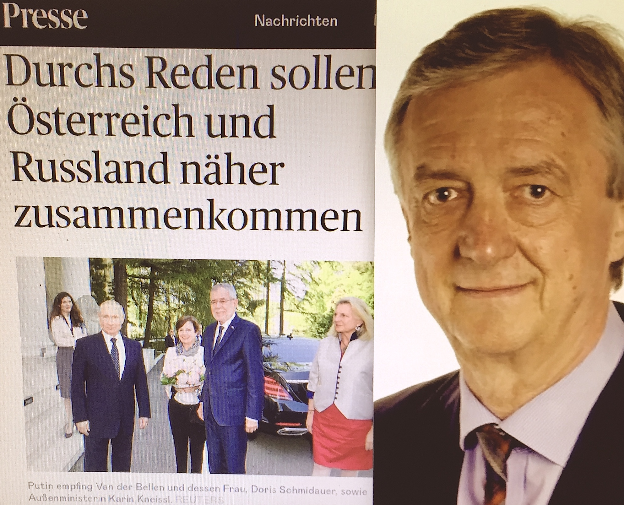 "Im Sotschi-Dialog Steering Committee im Bereich Wirtschaft ist der Vizepräsident der österreichischen Industriellenvereinigung, Vorarlberger Konsul der Russischen Föderation und CEO der Bertsch Holding, Ing. Hubert Bertsch. Für ihn machen die Russland-Sanktionen lediglich das Versagen der EU-Politik deutlich, diplomatische Lösungen zu finden. Sowohl am Round Table des Belarusian-Austrian Business Council als auch im Rahmen des Sotschi-Dialogs setzt er sich als Experte für Ökotechnologien intensiv für Verständigung, Kooperation und Interessenausgleich in der Ökonomie und hier ganz besonders für eine gemeinsame ökologisch-soziale Zukunft ein - immer die Erreichung der Klimaziele im Fokus. in the Steering Committee of Sochi Dialogue in economy/business is the Vice President of the Austrian Association of Industrialists, Vorarlberg Consul of the Russian Federation and CEO of Bertsch Holding, Ing. Hubert Bertsch. For him, the Russia sanctions only show the failure of EU policies to find diplomatic solutions. Both at the Round Table of the Belarusian-Austrian Business Council and as part of the Sochi Dialogue, as an expert in ecotechnology, he works intensively for understanding, cooperation and balancing interests in the economy, and here in particular for a common ecological and social future - always focussed on achieving climate goals. Verena Daum www.progression.at, Buch ""Verbotene Frucht - unser innerer Kampf zwischen materieller Gier und universaler Liebe""."