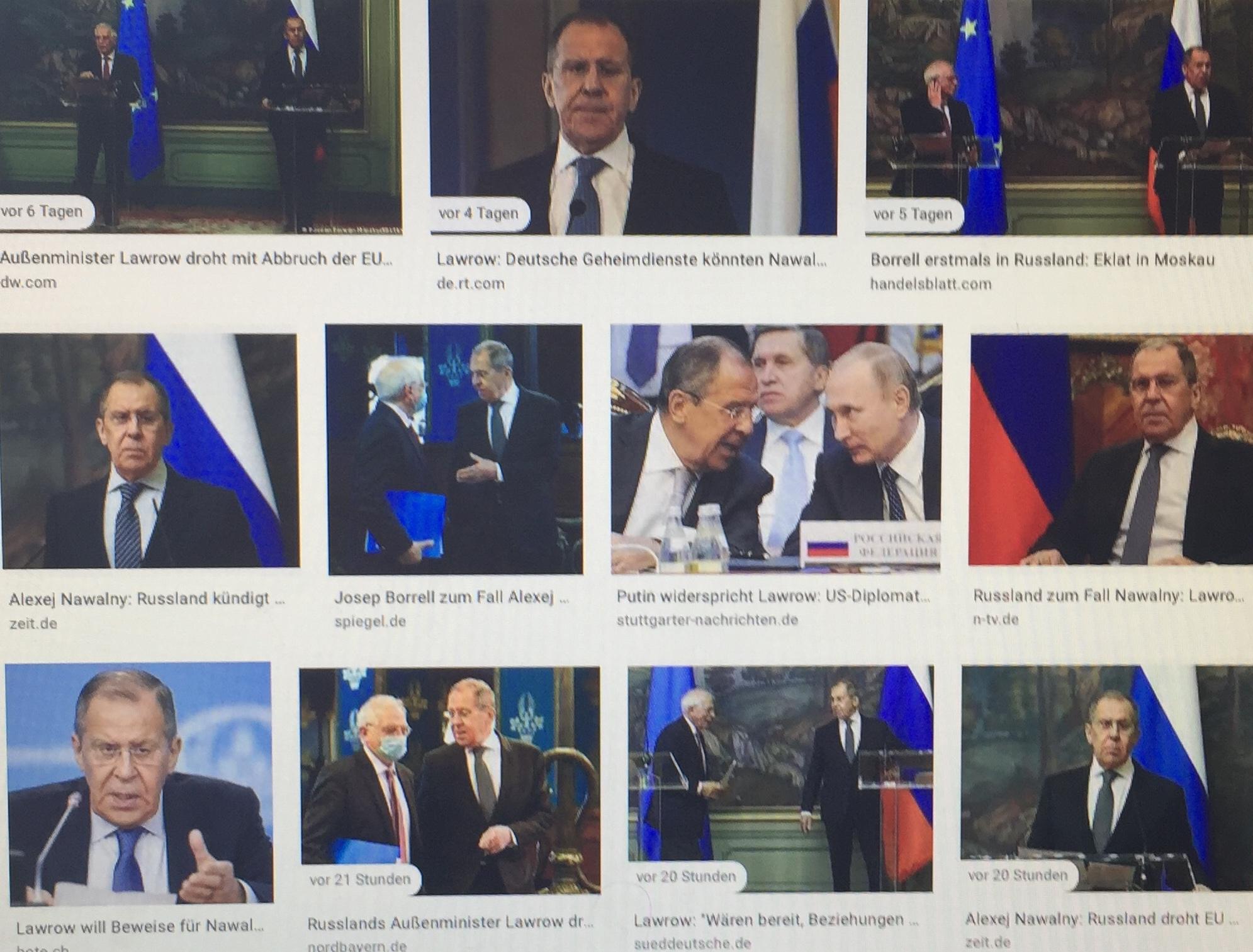 """""""Russland war und ist immer um partnerschaftliche Wirtschaftsbeziehungen auf Augenhöhe mit Deutschland und der EU bemüht"""", betont der russische Präsident Wladimir Putin seit seiner Rede im Deutschen Bundestag 2001 immer wieder. Zuletzt im Rahmen des Weltwirtschaftsforums am 27. Jänner 2021: """"Liebe funktioniert aber nicht einseitig – sie muss schon gegenseitig sein."""" Soll heißen, sich ehrlich um gegenseitiges Verständnis und Interessenausgleich zu bemühen - das """"Gemeinsame vor das Trennende"""" und """"Kooperation vor Konfrontation"""" zu stellen. Doch die EU-Politik bricht zugunsten transatlantischer Interessengruppen mit den sogenannten Russlandsanktionen ohne UN-Mandat immer wieder Völkerrecht: mit der NATO-Osterweiterung, gewaltsamen Farbrevolutionen, Putschen, der Errichtung einer feindlichen Staatenmauer um Russland,  mit Beteiligung an Regime-Change-Wars (…). Die aktuelle deutsch-europäische Empörung über den russischen Außenminister Sergej Lawrow, der einem etwaigen Bruch mit Brüssel aufgrund des heuchlerischen Nawalny-Theaters gelassen entgegensieht, ist ein schlechter Witz. Moskau hat jedes (internationale) Recht, die völkerrechtswidrigen Sanktionen des """"Westens"""" zu kritisieren und sich die Einmischung in innere Angelegenheiten zu verbitten - gerade wenn EU-Chefdiplomat Josep Borrell zu Gast ist. Für ein Erstarken der österreichisch-russischen Wirtschaftsbeziehungen arbeiten der Präsident der europäischen Wirtschaftskammer Christoph Leitl mit Anlagenbauer und Vorarlberger Konsul der Russischen Föderation Ing. Hubert Bertsch seitens der österreichischen Industriellenvereinigung mit einem engagierten österreichisch-russischen Team an der neuen Plattform """"Sotschi Dialog"""".  Von Verena Daum (www.progression.at, www.garden-eden.org)"""