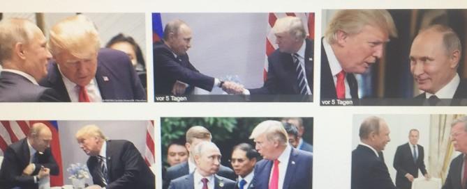 Trump-Putin-Treffen löst massenmediale Panik bei den Transatlantikern mit ihrer NATO-Kriegsallianz aus. www.progression.at Verena Daum