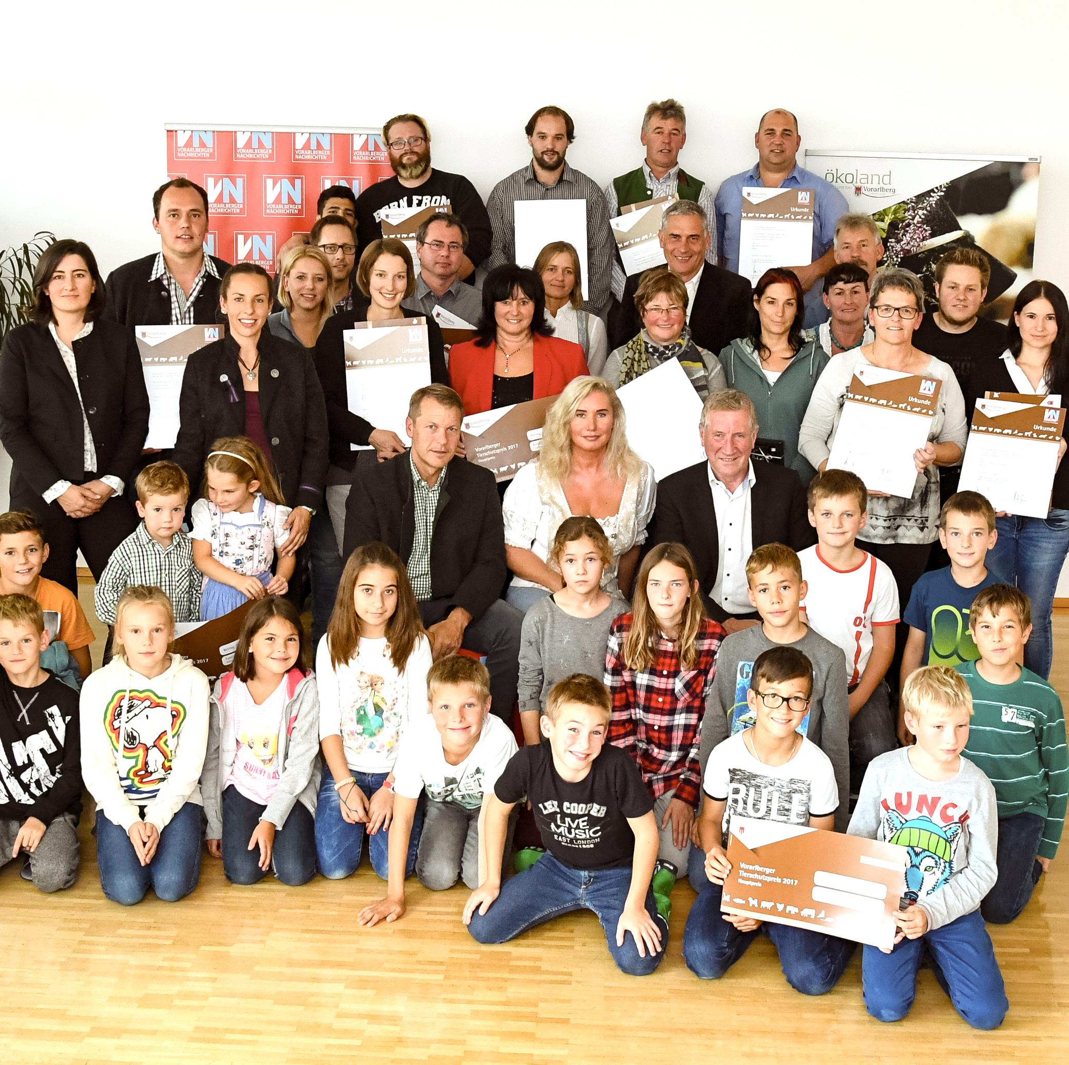 Tierschutzpreis von VN und Land Vorarlberg 2017